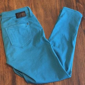 Mavi | teal skinny pants